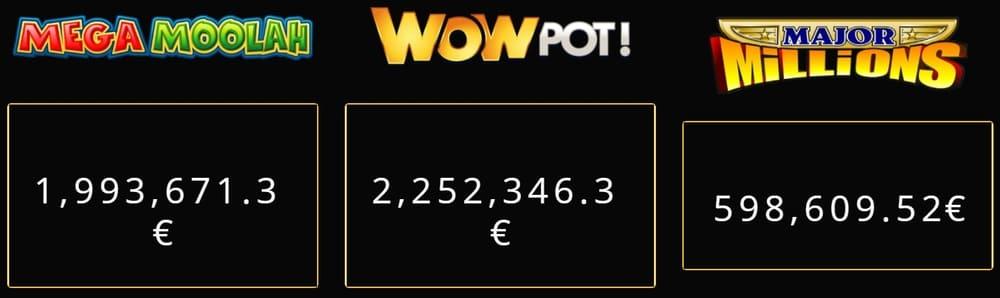 Progressieve jackpot online slots