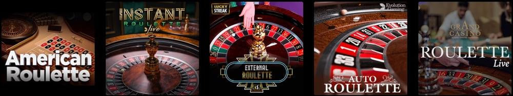 roulette casino belgie